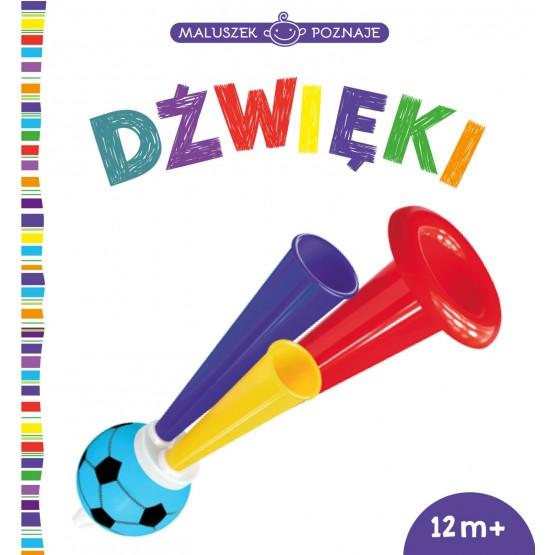 Książka Maluszek poznaje. Dźwięki praca zbiorowa