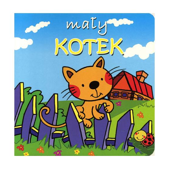 Książka Mały kotek. Mini zwierzątka Kotlonek Anna