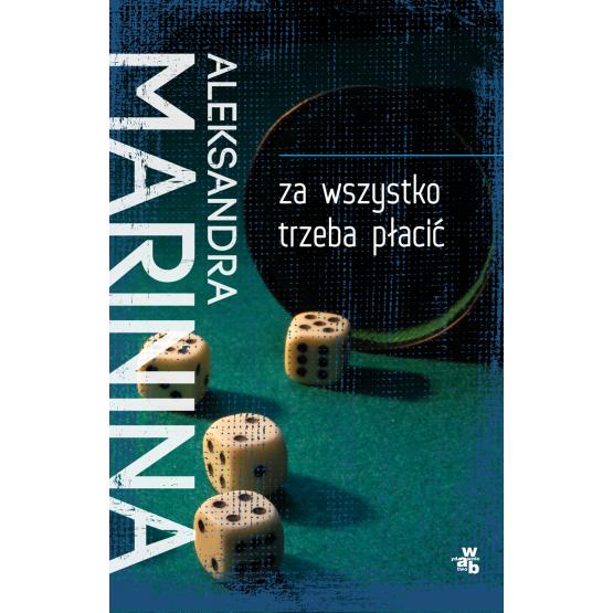 Książka Za wszystko trzeba płacić Marinina Aleksandra