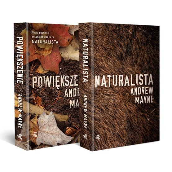 Książka Pakiet: Naturalista/Powiększenie Mayne Andrew