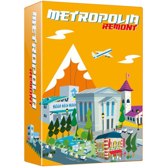 Gra ekonomiczna Seria Gier Japońskich. Metropolia - REMONT (dodatek do gry Metropolia)