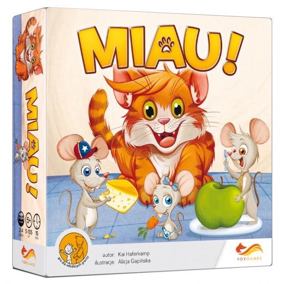 Gra gry planszowa Miau!