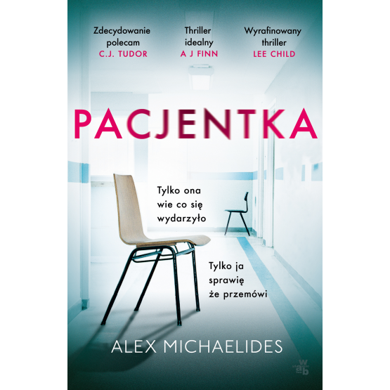 Książka Pacjentka Alex Michaelides