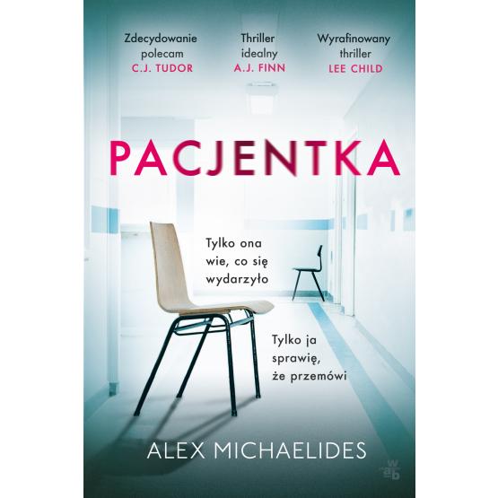 Książka Pacjentka. Pocket Alex Michaelides