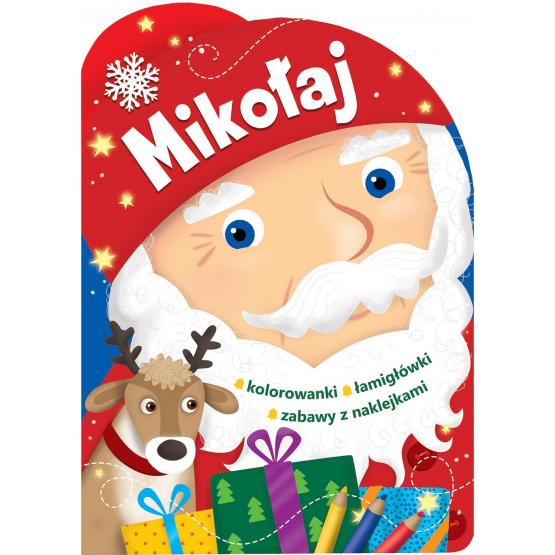 Książka Mikołaj. Świąteczne activity praca zbiorowa