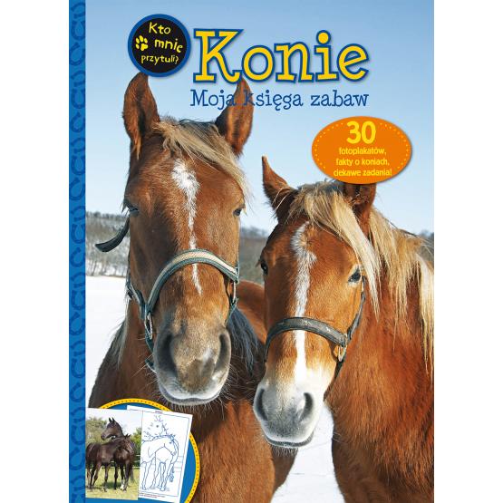 Książka Konie. Moja księga zabaw Praca zbiorowa