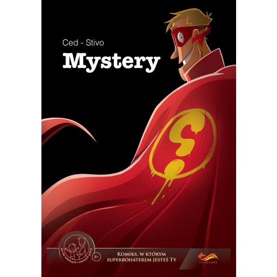 Gra rabat 40a Mystery. Komiks paragrafowy