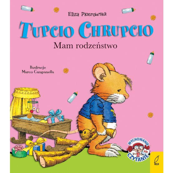 Książka Tupcio Chrupcio. Mam rodzeństwo Praca zbiorowa