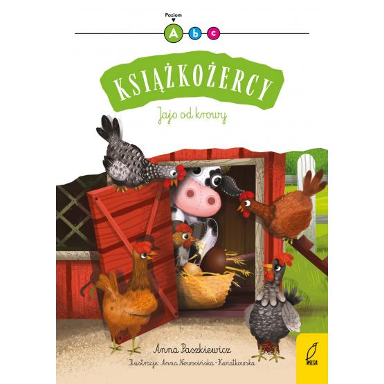 Książka Książkożercy. Jajo od krowy. Poziom 1 Anna Paszkiewicz