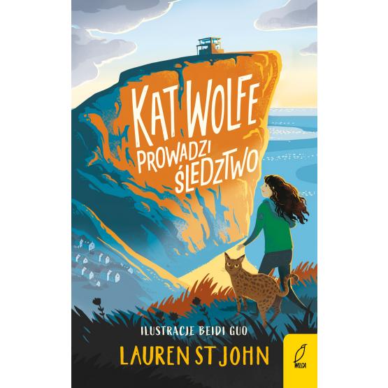 Książka Kat Wolfe prowadzi śledztwo Lauren St John