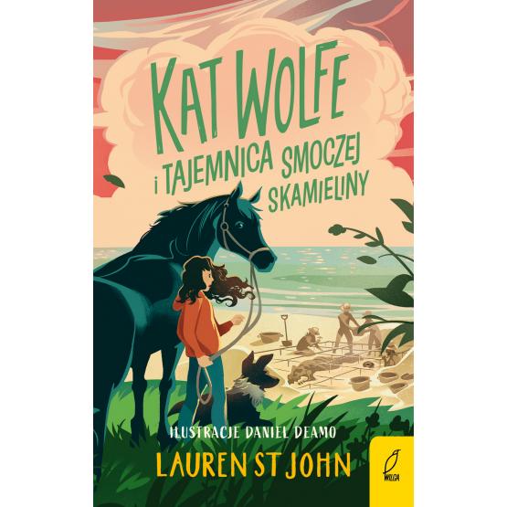 Książka Kat Wolfe i tajemnica smoczej skamieliny. Tom 2 Lauren St John