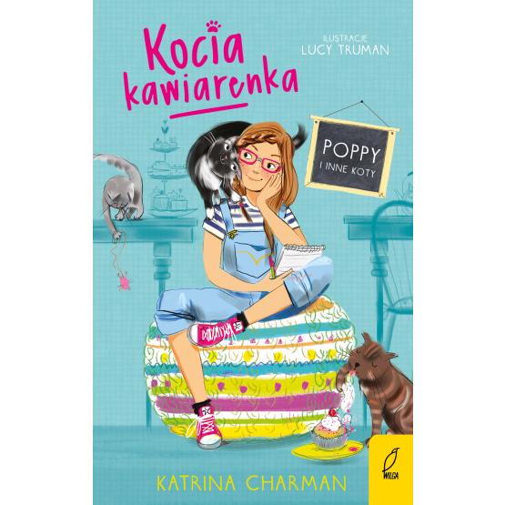 Książka Kocia kawiarenka. Poppy i inne koty. Tom 1 Katrina Charman