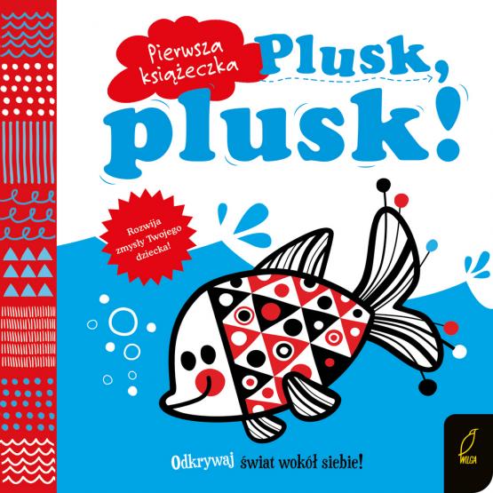 Książka Pierwsza książeczka. Plusk, plusk! Praca zbiorowa