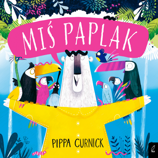 Książka Miś Paplak Pippa Curnick