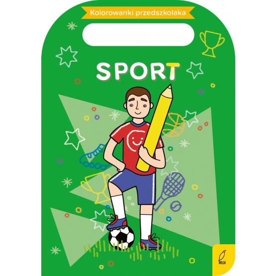 Książka Kolorowanki przedszkolaka. Sport Praca zbiorowa