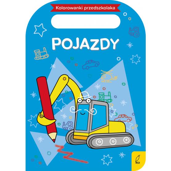 Książka Kolorowanki przedszkolaka. Pojazdy Praca zbiorowa