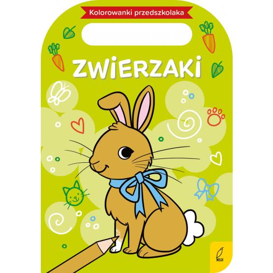 Książka Kolorowanki przedszkolaka. Zwierzaki Praca zbiorowa