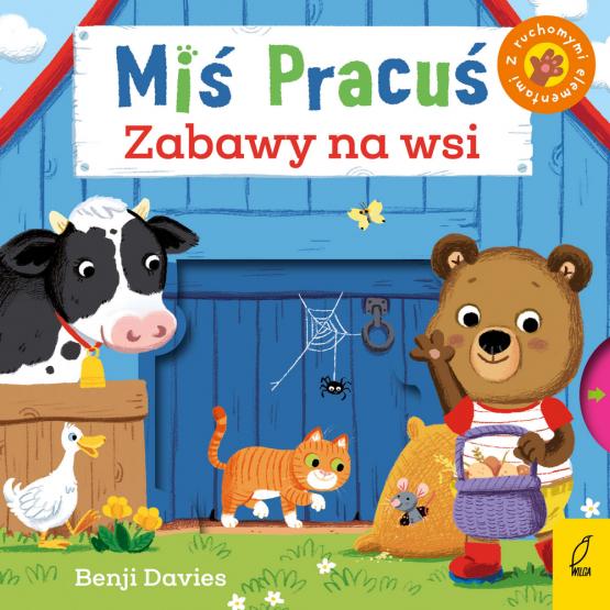 Książka Miś Pracuś. Zabawy na wsi Praca zbiorowa