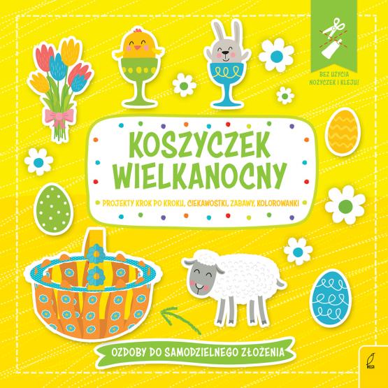 Książka Koszyczek wielkanocny. Wypychanka Praca zbiorowa