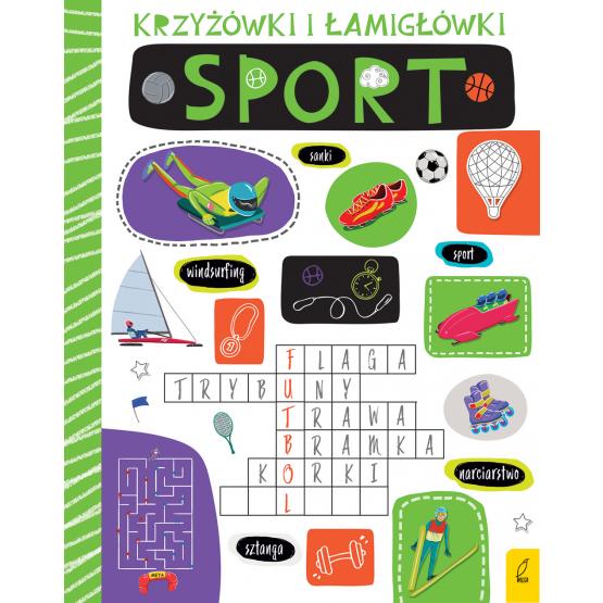 Książka Krzyżówki i łamigłówki. Sport Praca zbiorowa