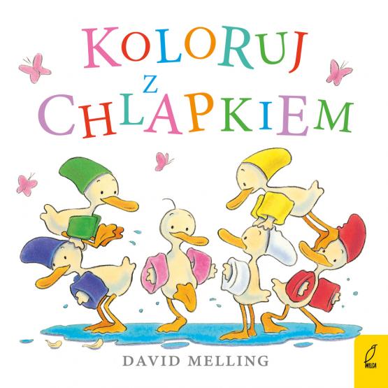 Książka Koloruj z Chlapkiem David Melling