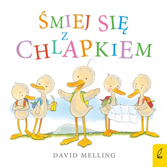 Książka Śmiej się z Chlapkiem David Melling