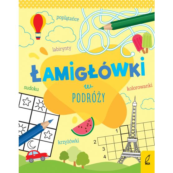 Książka Łamigłówki w podróży Praca zbiorowa