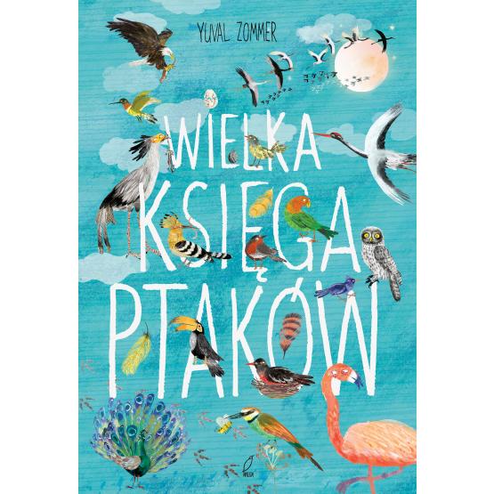 Książka Wielka księga ptaków Yuval Zommer