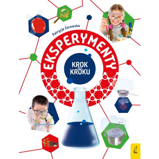 Książka Eksperymenty. Krok po kroku Patrycja Zarawska
