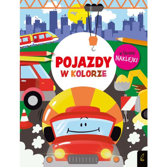 Książka W kolorze. Pojazdy Praca zbiorowa