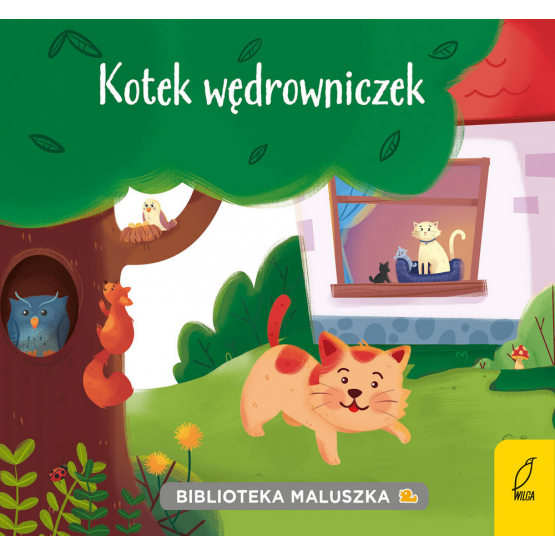 Książka Biblioteka maluszka. Kotek wędrowniczek Praca zbiorowa