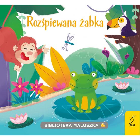 Książka Biblioteka maluszka. Rozśpiewana żabka Praca zbiorowa