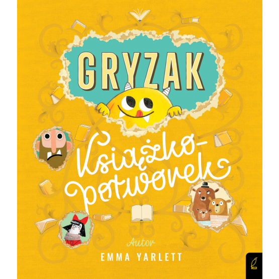 Książka Gryzak. Książkopotworek Emma Yarlett