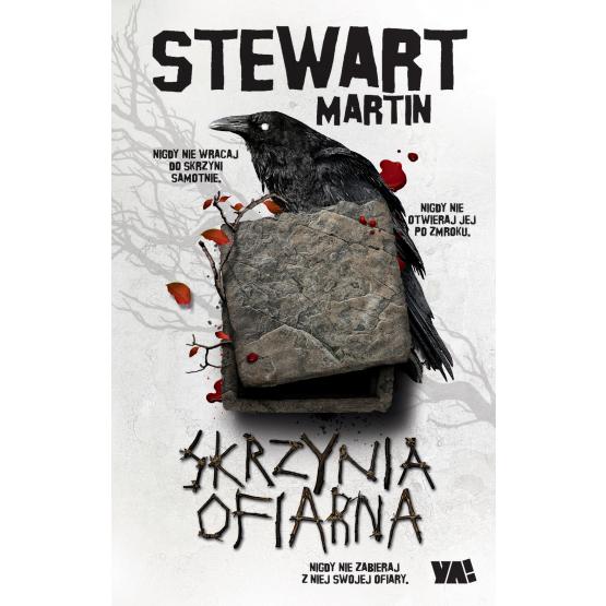 Książka Skrzynia ofiarna Martin Stewart