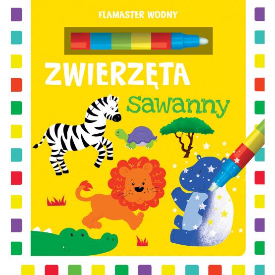 Książka Flamaster wodny. Zwierzęta sawanny Urszula Kozłowska