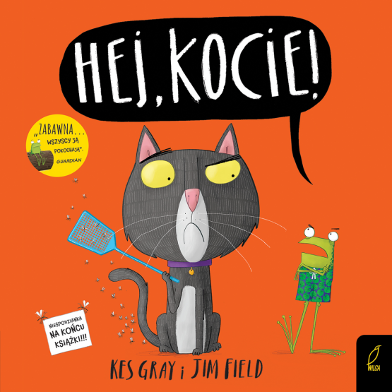 Książka Hej, kocie! Jim Field Kes Gray
