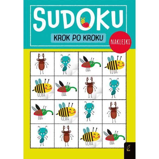 Książka Sudoku krok po kroku Praca zbiorowa