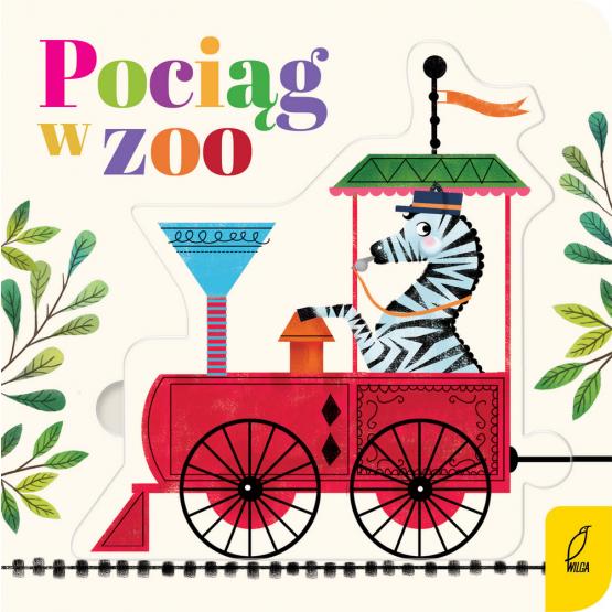 Książka Czytanki - układanki. Pociąg w zoo Praca zbiorowa