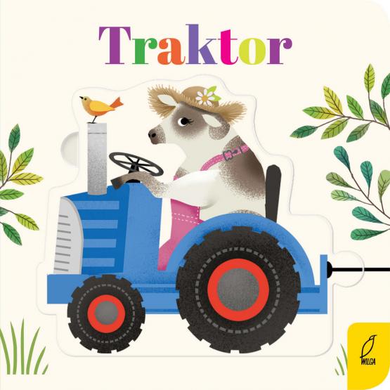 Książka Czytanki - układanki. Traktor Praca zbiorowa