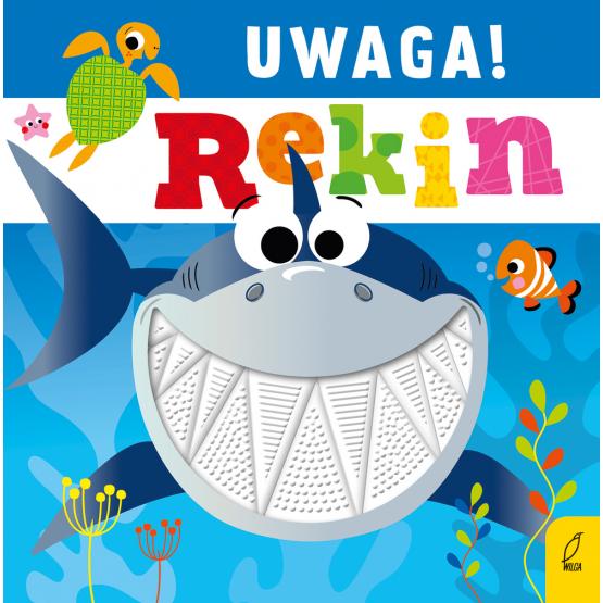 Książka Uwaga, rekin! Praca zbiorowa
