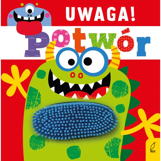 Książka Uwaga, potwór! Praca zbiorowa
