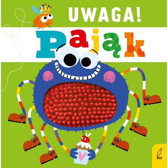 Książka Uwaga, pająk! Praca zbiorowa