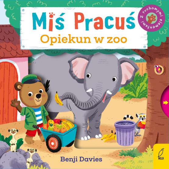Książka Miś Pracuś. Opiekun w zoo Benji Davies