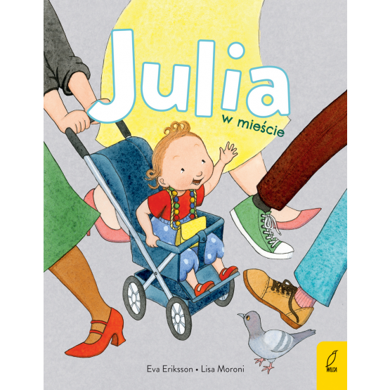 Książka Julia w mieście Lisa Moroni