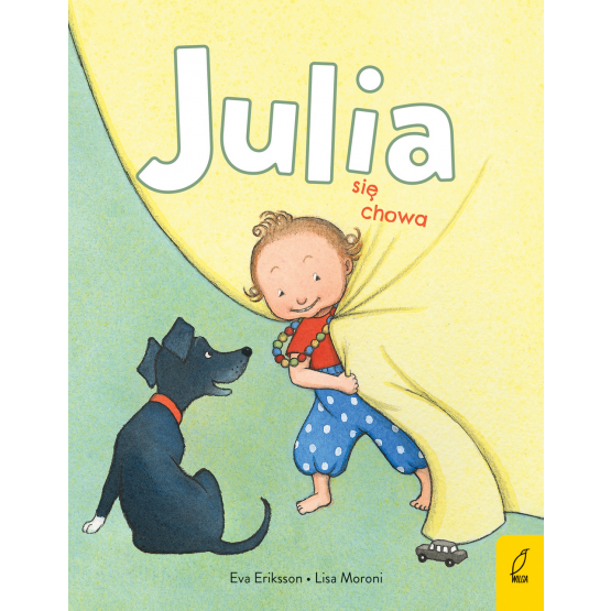 Książka Julia się chowa Lisa Moroni