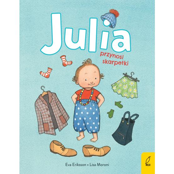 Książka Julia przynosi skarpetki Lisa Moroni