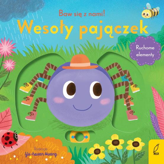 Książka Baw się z nami! Wesoły pajączek Praca zbiorowa