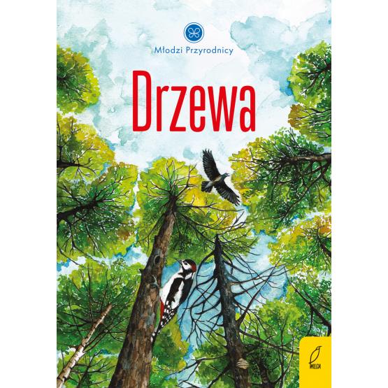Książka Młodzi przyrodnicy. Drzewa Patrycja Zarawska
