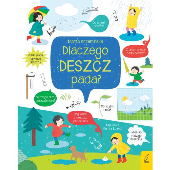 Książka Co i jak? Dlaczego deszcz pada? Marta Krzemińska