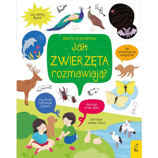 Książka Co i jak? Jak zwierzęta rozmawiają? Marta Krzemińska